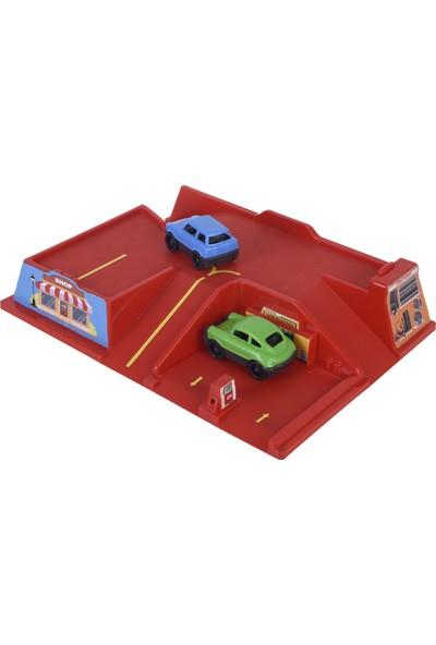Zuzu Toys Arabalı Otopark Seti