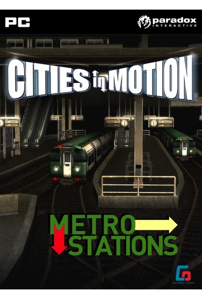 Cities in Motion: Metro Station (DLC)