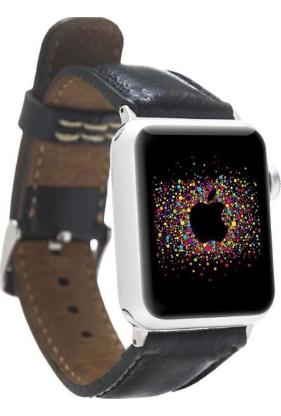 Bouletta Apple Watch Deri Saat Kordon 38/40mm Rst1 Siyah