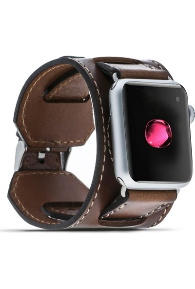 Bouletta Apple Watch Deri Cuff Kordon 38/40mm Taba