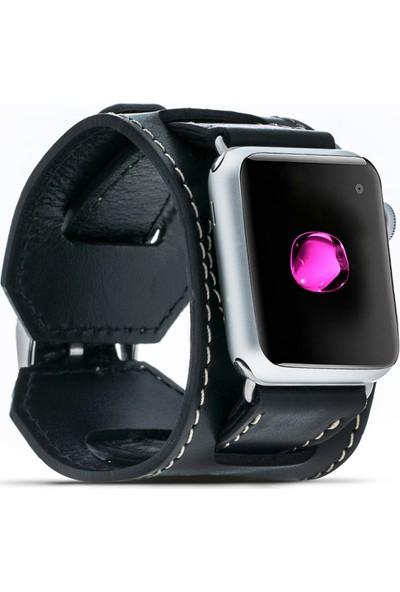 Bouletta Apple Watch Deri Cuff Kordon 38/42mm Rst1