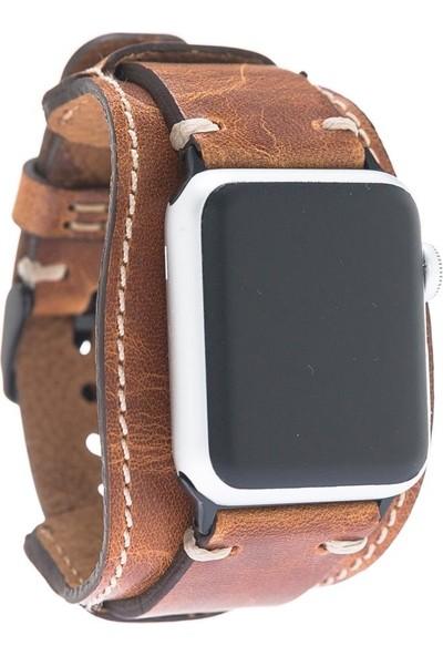 Bouletta Apple Watch Deri Cuff Kordon 42/44mm V18 Pulsar