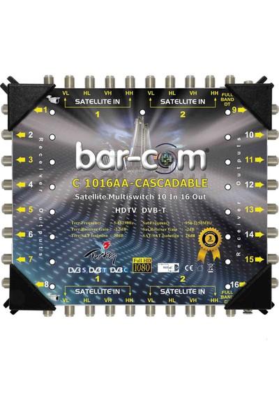 Barcom 10/16 Kaskat Multiswitch Uydu Santrali