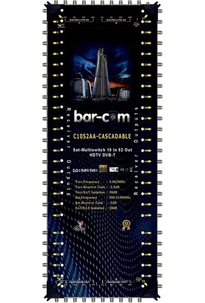 Barcom 10/52 Kaskat Multiswitch Uydu Santrali