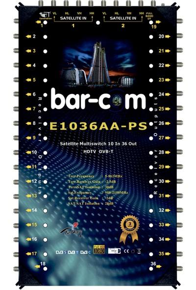 Barcom 10/36 Sonlu Multiswitch Uydu Santrali