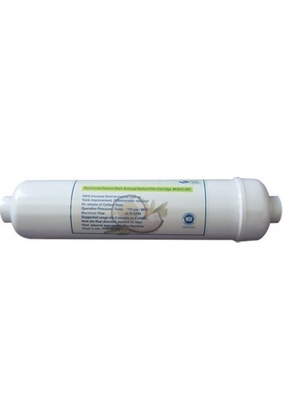 Nsf Belgeli İnline Coconut Karbon Filtre