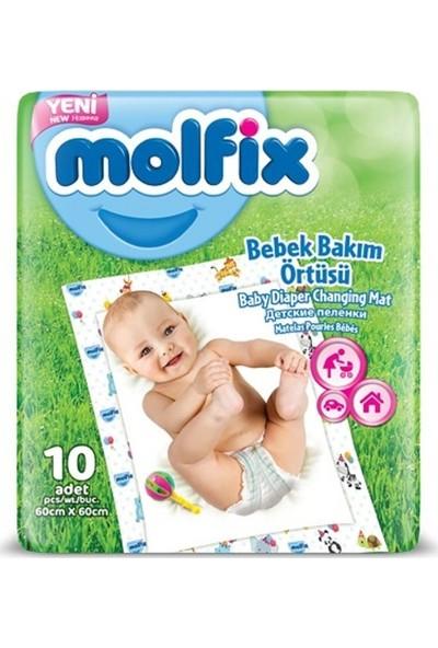 Molfix Bebek Bakım Örtüsü 60X60 cm 10 Adet