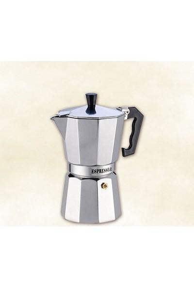 Dilek Sepeti Pepita Moka Pot Espresso Cezveleri 6 Kişilik