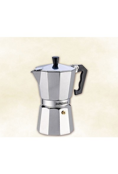 Dilek Sepeti Pepita Moka Pot Espresso Cezveleri 3 Kişilik
