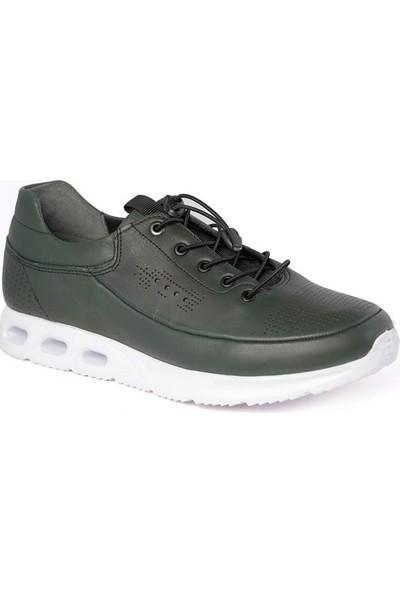 Derimall Siyah Hakiki Deri Erkek Günlük Ayakkabı