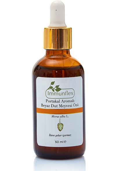 Immunflex Portakal Aromalı Beyaz Dut Meyvesi Özü