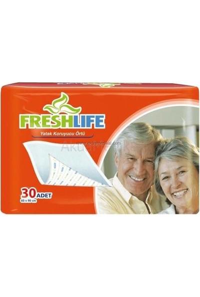 Freshlife 60X90 Yatak Koruyucu Örtü 30 Luk Paket - 4 Paket (4X30=120 Adet)
