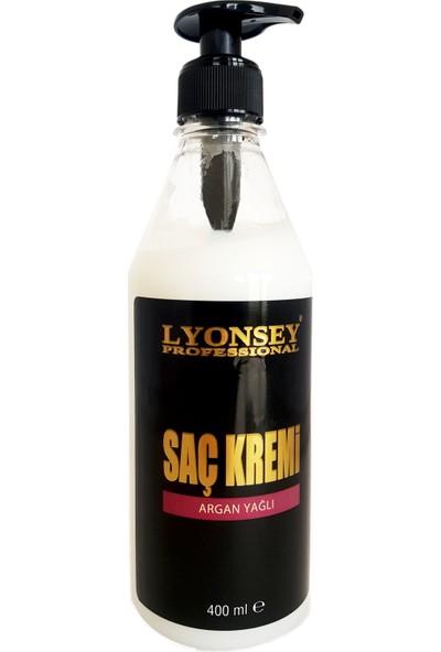 Lyonsey Professional Saç Bakım Kremi (Argan Yağlı) 400ml