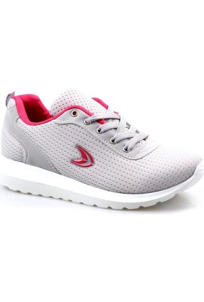 Acropol Kız Çocuk Gri Günlük Spor Ayakkabı