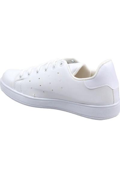 Livens Kadın Beyaz Günlük Spor Ayakkabı