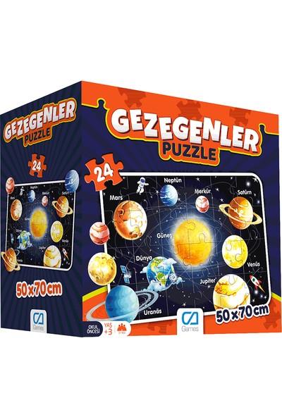 Ca Ca Games Gezegenler Yer Puzzle 50x70 cm