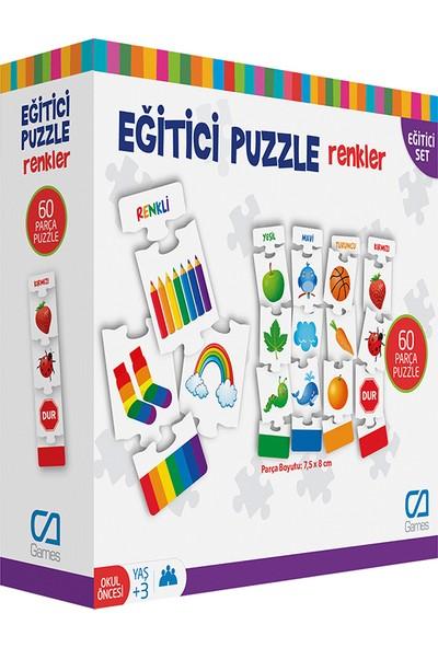Ca Ca Games Renkler Eğitici Puzzle