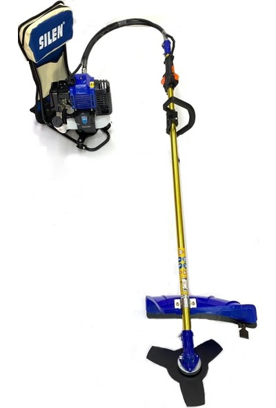 Silen Zeytin Hasat Makinesi + Sırt Tırpan 4.4 Hp Testere Ve Misina