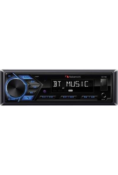 Nakamichi NQ-711B USB/SD/FM Bluetooth Aux 4X50W Oto Araç Teyp