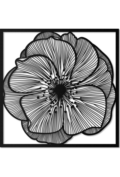 Artepera Daisy Metal Tablo - APT017 70 x 70 cm