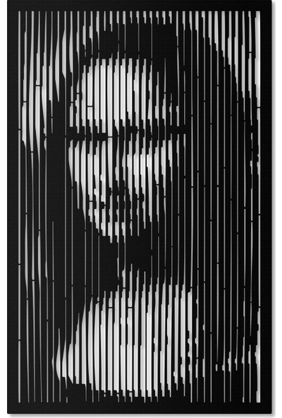 Artepera Monalisa 1 Metal Tablo - APT021 45 x 70 cm