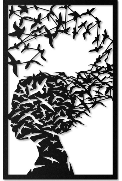Artepera Kybele Metal Tablo - APT036 45 x 70 cm