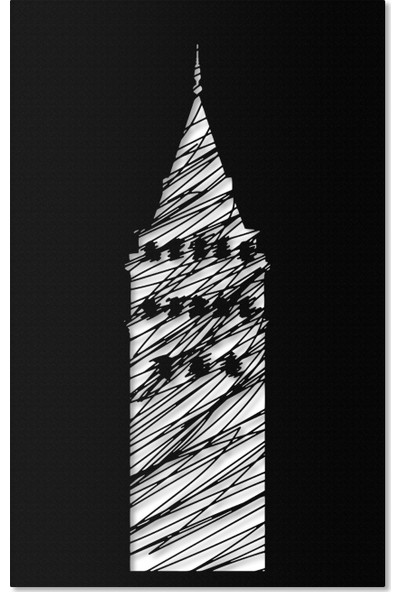 Artepera Ceneviz Metal Tablo - APT053 45 x 70 cm