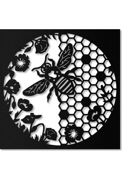 Artepera Maya Metal Tablo - APT070 45 x 45 cm