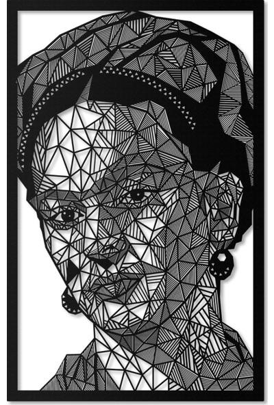 Artepera Frida Metal Tablo - APT088 45 x 70 cm