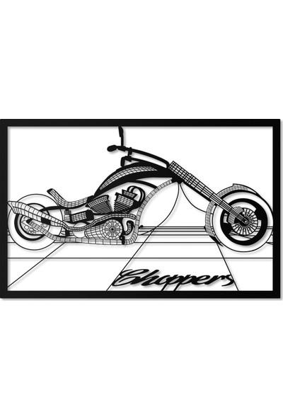 Artepera Chopper Metal Tablo - APT095 45 x 70 cm