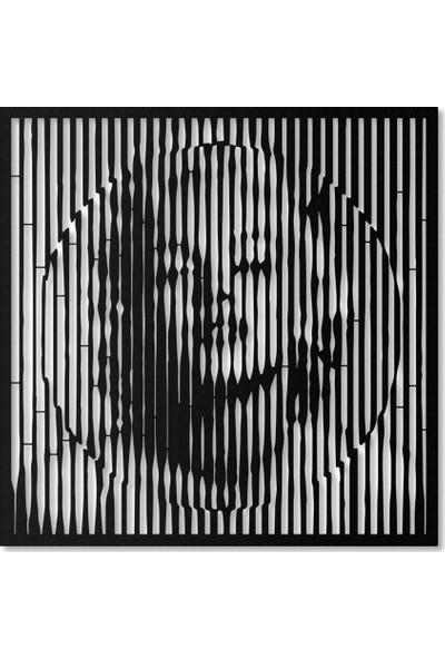 Artepera Warhol Metal Tablo - APT102 45 x 45 cm