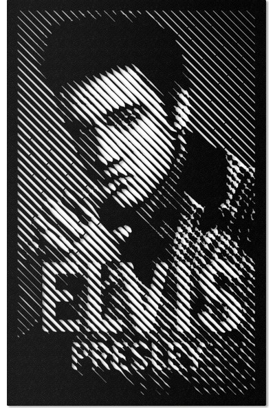 Artepera Elvis Presley Metal Tablo - APT209 45 x 70 cm