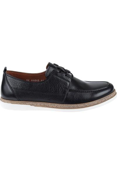 Greyder Hakiki Deri Erkek Ayakkabı 64040 Siyah