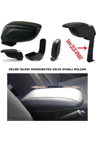 KalitePlus Dacia Logan MCV 2014 Model Kol Dayama Siyah Kolçak Delme Yok
