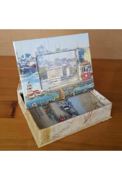 Di̇rektal İstanbul Temalı Kutulu Fotoğraf Albümü