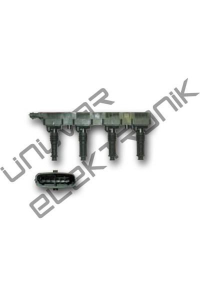 Ünüvar Ateşleme Bobini Astra H - Meriva 1.4 - Corsa C 1.2