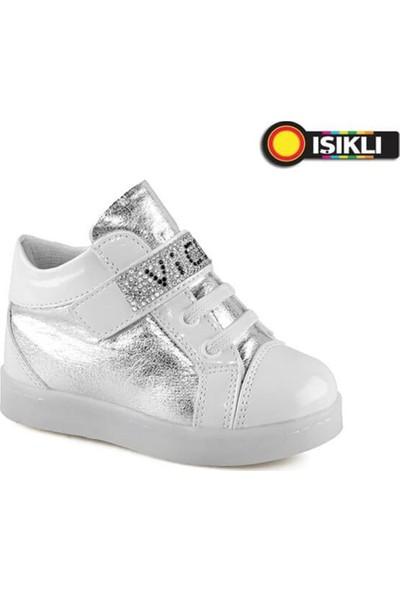 Vicco Kız Çocuk Patik Işikli Ayakkabı 221.V.151