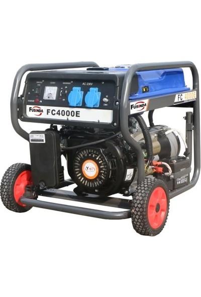 Fusinda FC4000E 3 KW 7 HP Benzinli Jeneratör