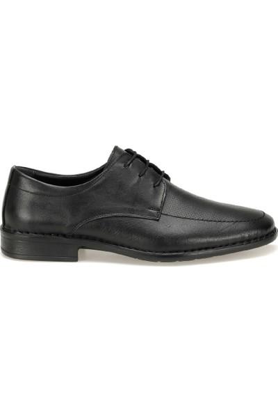 Polaris 5 Nokta 91.100562.M Siyah Erkek Deri Klasik Ayakkabı
