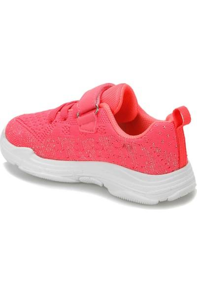 I Cool Fancy Fuşya Gümüş Kız Çocuk Yürüyüş Ayakkabısı
