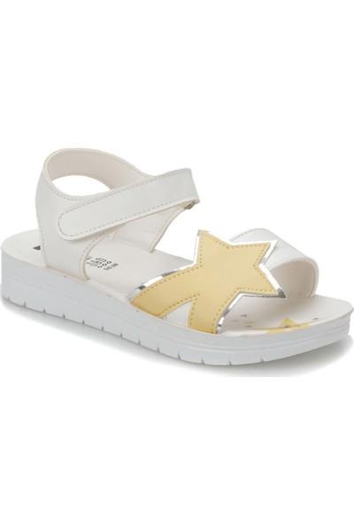 Seventeen Svs250 Sarı Kız Çocuk Sandalet