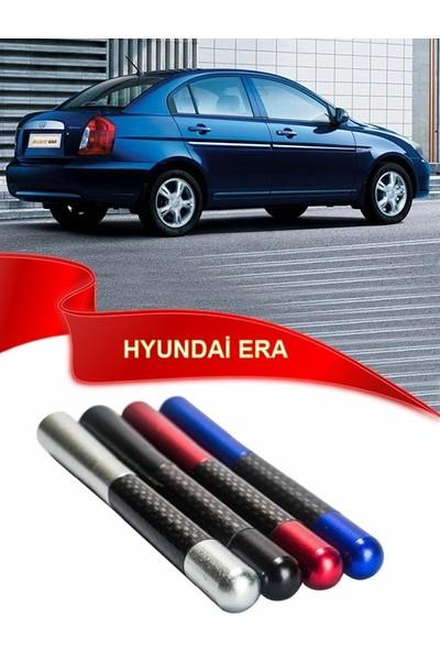 Waxen Hyundai Accent Era Uyumlu Karbon Desenli Çubuk Radio Anteni - Mavi