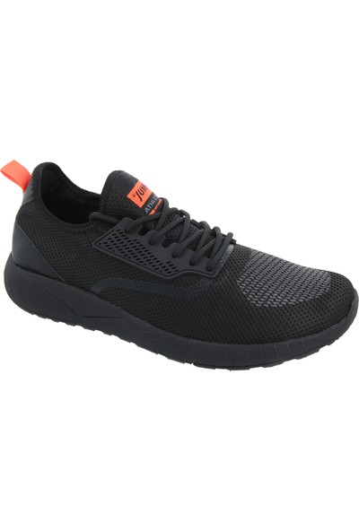 Jump Siyah Erkek Günlük Ayakkabı 21246-B-Black