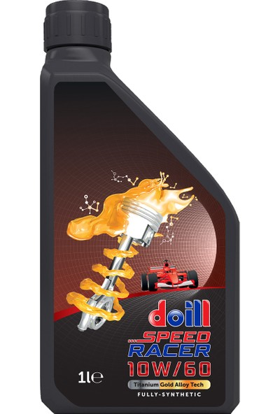 Doill 10W60 Api Sn/Cf - Acea A3/B4 Tam Sentetik Motor Yağı 1 lt