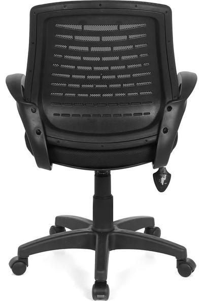 Seduna Polen XWork Siyah Fileli Ofis Çalışma Koltuğu - Bilgisayar Koltuğu