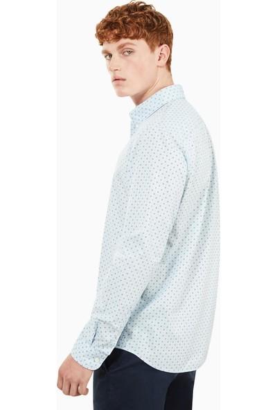 Timberland Ls Suncook River Printed Poplin Shirt Erkek Şort A1NVJ