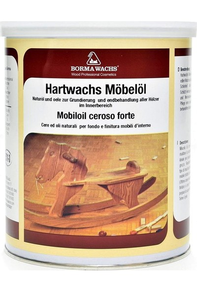 Borma Wachs Hard Furniture Oil Mobilya Yağı