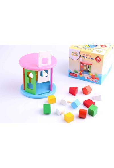 Learning Toys Intelligence Shape Wheel
