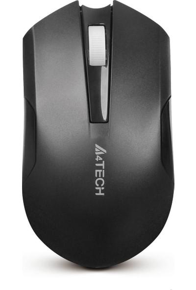 A4 Tech G11-200N Nano V-Track Metal Ayak 2000DPI Şarj Edilebilir Kablosuz Mouse