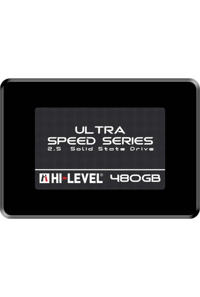 "Hi-Level Ultra 480GB 550MB-530MB/s Sata3 2,5"" SSD (HLV-SSD30ULT/480G)"